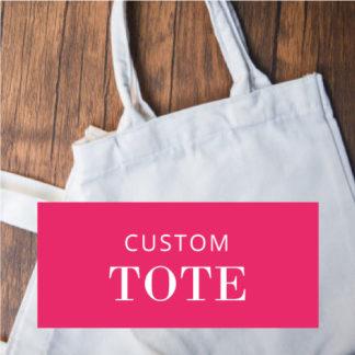 Image of custom tote